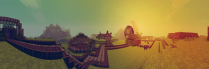 Survival Panorama by MinecraftParadise