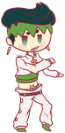 Trade: Chibi Rohan by DragonGirl983