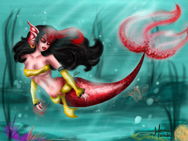 Mermaid Miranda Hell by JamilSC11
