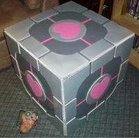 Companion Cube by The-Rebexorcist
