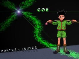 Hunter x Hunter - Gon by df15
