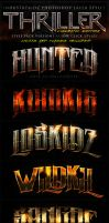 Thriller Cinematic Photoshop Layer Styles by Industrykidz