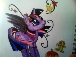 Gothic Twilight Sparkle by mistresscarrie