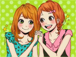 Naho y Shimana by akumaLoveSongs