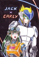 Jack x Carly - Robotic by punkbot08