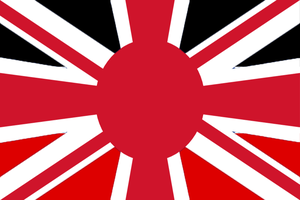 Anglo-Germanic-Japanese union flag by Disney08