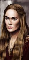 Cersei Bookmark by FloorSteinz