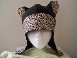 Leopard Print Kitty Hat by captiveaura