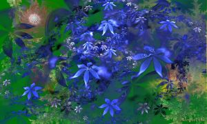 Enchanted in blue by Margot1942