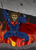 The Lion of Steel by BullittJaleo