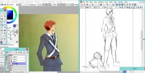 hetalia: scotland and england wip by dare-to-OC