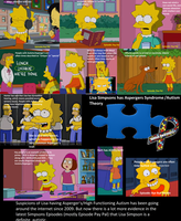 Lisa has AUTISM?- Theory 2 by cyngawolf