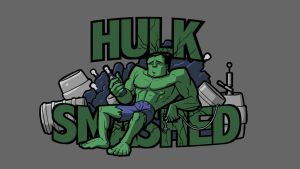 Hulk smash by Stephen-Daymond