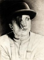 Frank Iero - A Clockwork Orange by MoonSStorm