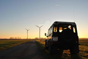 Land rover Defender View by SeaWolfV
