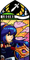 Smash Bros - Lucina by Quas-quas