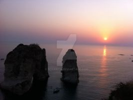 Sun Set by Alharith
