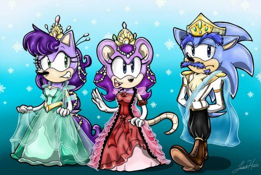 Past Royal Triplets by SonicFF