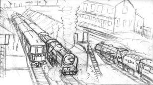 The Southern Region, storyboard sequence by YanamationPictures