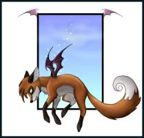 Wing...fox...thing by Skia