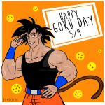 Happy Goku Day! 5/9 by GND-KicaCris