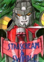 Armada Starscream with Swindle by Starshot-seeker