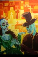 Day of the Dead by GinOokami