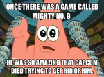 Patrick Meme #1: Mighty No. 9 by thekirbykrisis
