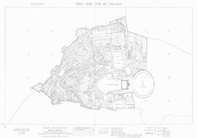 Map of Vatican / Mapa Watykanu by DanGref