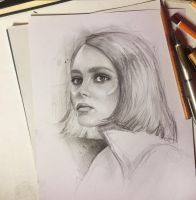 Lily-Rose  Depp by MaryRiotJane