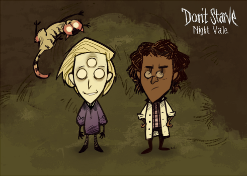 Don`t Starve Night Vale by iaVako