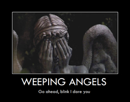 weeping angels Demotivator by tgdrode123