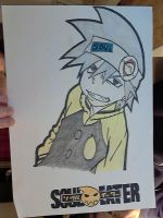 Soul from Soul Eater by elfeni