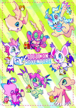 digi adventure by extyrannomon