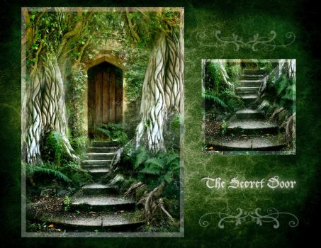 The Secret Door - July by ArwensGrace