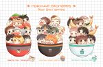 [2ND PREORDER] Haikyuu Rice Bowls Standees by Naruu-kun