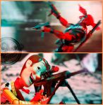 DEADpool vs Woody by theonecam
