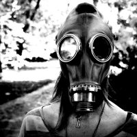 Gas Mask by dybicki