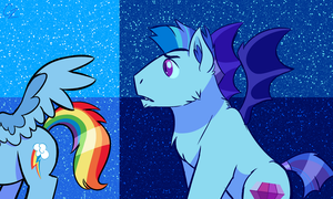 MLP - the same but different by hateful-minds