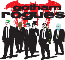 Gotham's Reservoir Rogues v2 (w/ Red Bubble Link!) by FireProFitz