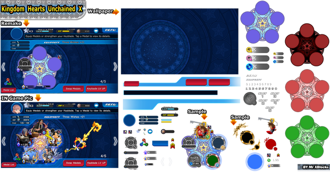 Kingdom Hearts Unchained X sprite A1 UpDate by MASTERQ2