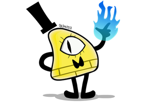 Gravity Falls: Bill Cipher by Materile9