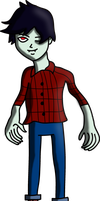 Adventure Time Marshall Lee by water16dragon