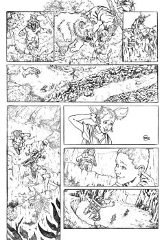 Eggs page 9 - pencil by StefanoSpaziani