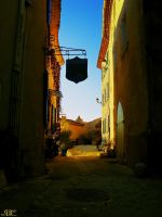 Street in Provence by LotusGrisDesign