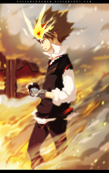KHR 121 - Sawada Tsuna and Video by DesignerRenan