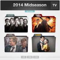 2014 Midseason TV Series Folders by limav