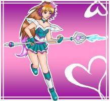 Super Cliche Magical Girl by LadyMarzifoy