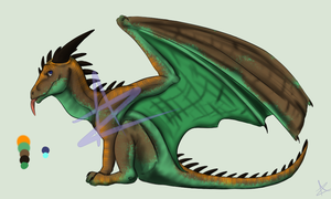 Young Dragon Adopt 2 :CLOSED: by Armanie-Zacharias