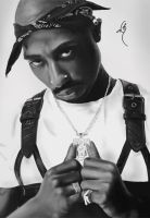 2Pac by CrHack3r